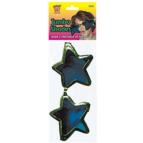 Jumbo Stern-Brille Verschiedenerlei, One Size (70er Fancy Dress Costumes Ideen)