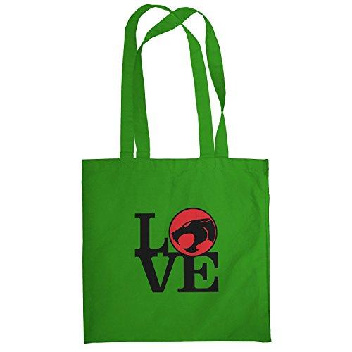 Texlab–Thunder Love–sacchetto di stoffa Verde