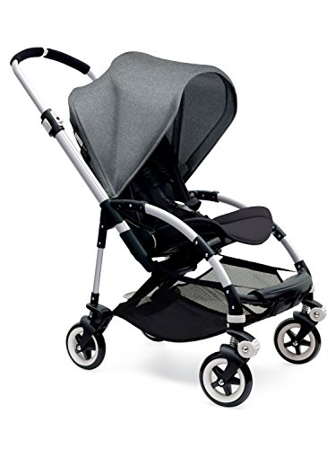 Bugaboo Bee3 Stroller - Grey Melange/Black/Aluminum by Bugaboo