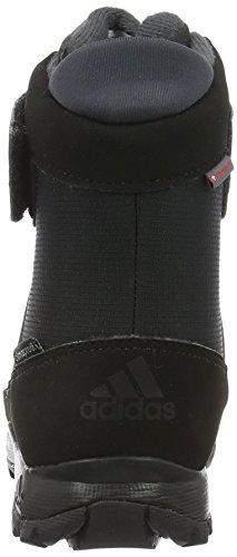 adidas Climawarm Cp, Chaussures Multisport Outdoor Mixte Enfant Noir (Core Black/dark Grey/night Metallic)