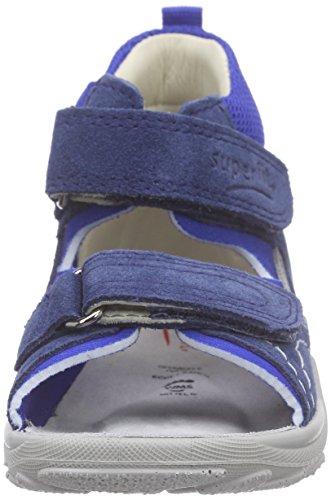 Superfit Flow, Sandales bébé garçon Bleu (water Kombi 88)