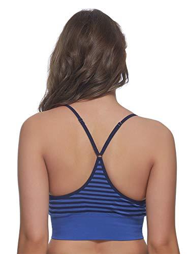 Felina Seamless T-Back Bralette BH, unterstützt die drahtlose Unterstützung, Komfort - - Klein - 2