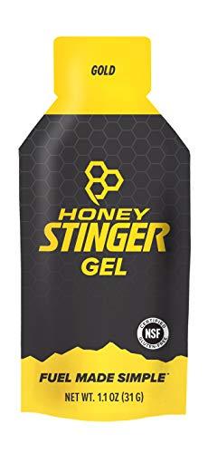 1 Unze Lebensmittel (Honig Gold-Stinger Energy Gel, 1,3-Unze Gels (Packung mit 24))