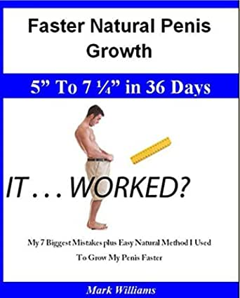 Penis growth results