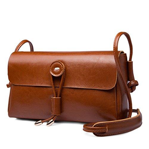 One-spalla piccola borsa/semplice piccoli quadrati pacchetti/retrò-diagonale pacchetto-H A