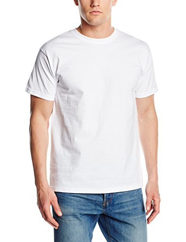 fruit-of-the-loom-ss021m-t-shirt-homme-blanc-blanc-xx-large