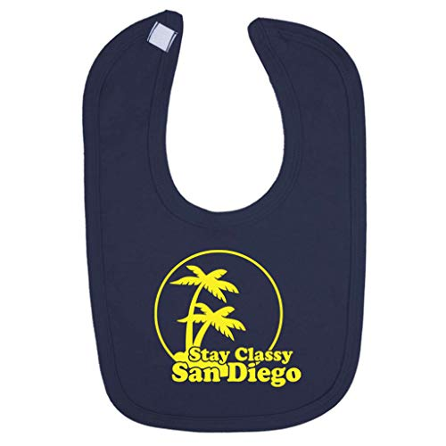 (Stay Classy San Diego Anchorman Baby And Toddler Velcro Close Bib)