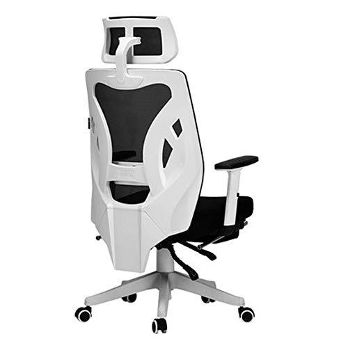 Ergonomischer Bürostuhl - Memory Foam Pillows Rückenpolster Lordosenstütze für Car Home Office Chair, Lordosenstütze und gepolsterten Gaming-Stuhl