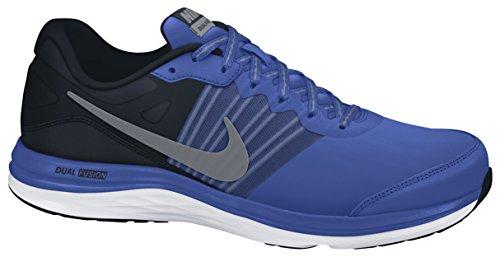 Nike Dual Fusion X, Herren Laufschuhe, Blau (Gm Royal/Mtlc Cl Gry-Blck-Wht 405), 46 EU