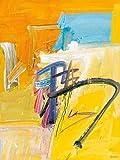 Feeling-at-home-Kunstdruck-Reim-cm83x63-Poster-fuer-Rahmen