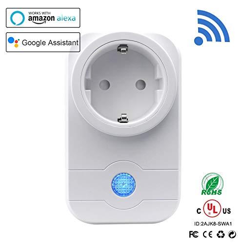 Smart Steckdose,StillCool Wifi Wireless Smart Switch Socket Timing Funktion  mit Home Automatische APP für IOS und Android Smartphones, Kompatibel mit