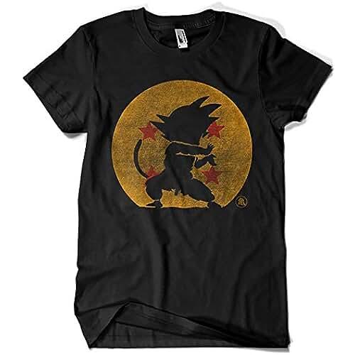dia del orgullo friki 2202-Camiseta Premium, Kame Hame Ha - Bola Abuelo -Dragon Ball - Goku (Melonseta)