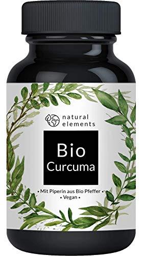 Bio Curcuma (Kurkuma) - Aktionspreis - 240 vegane Kapseln - 4542 mg pro Tagesdosis (Bio Curcuma +...