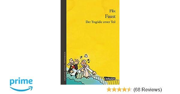 Faust Der Tragödie erster Teil Flix Taschenbuch Deutsch Graphic Novel paperback