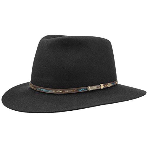 leisure-time-hair-felt-hat-akubra-traveller-felt-hat-63-cm-black