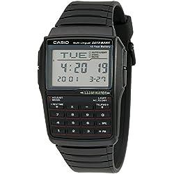 Casio DBC32-1A - Reloj (Reloj de pulsera, Resina, Negro, Resina, Negro, Rectángulo)