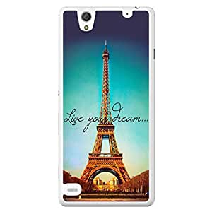 a AND b Designer Printed Mobile Back Cover / Back Case For Sony Xperia C4 (SONY_C4_1489)
