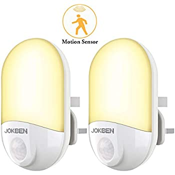 Motion Sensor Night Lights Plug In Wall Movement Sensor
