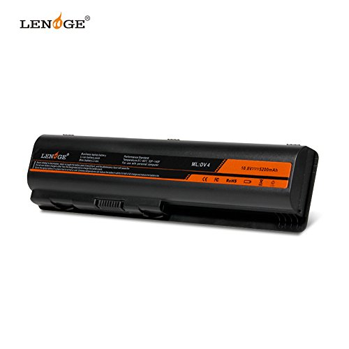 LENOGE Batterie d'Ordinateur Portable pour HP Pavilion DV4 DV4-1000, DV4-2000, DV5 DV5-1000, DV6 DV6-1000, DV6-2000 Séries, Aussi compatibles 484170-001 HSTNN-LB72