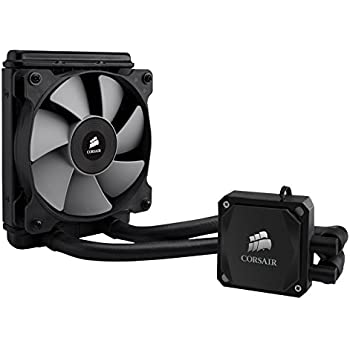 Corsair Hydro H60 Refroidisseur Liquide (Une SP120 PWM Ventilateur, All-in-One Liquid CPU Cooler) Noir