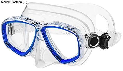 Aqua Speed - Optic PRO Taucherbrille mit Sehstärke/Dioptrien Rechts/Links individuell von +1,75; +2,25; +2,75 und -1,0 bis -8,0 | Tauchmaske | Schnorchelmaske | 11