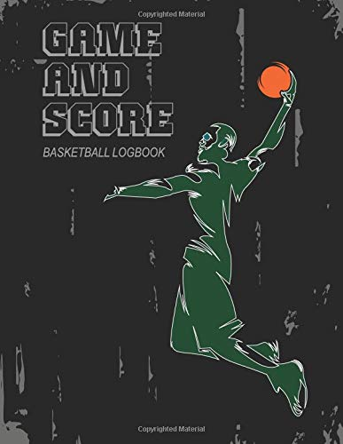 Game and score basketball log book: for Game Record  FiBA  International basketball federration por Raven Hunter