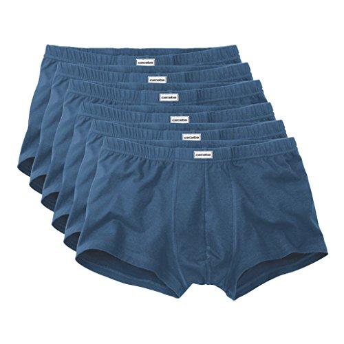 Ceceba Herren Retroshorts Pants 3er Pack 6 X Blue-Medium-Solid