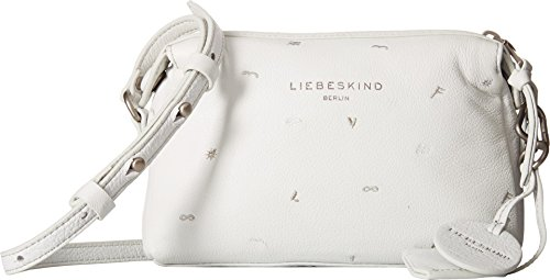 Borsetta Liebeskind Berlin Ladies Presque Marmi, Bianco 6x22x15 Cm