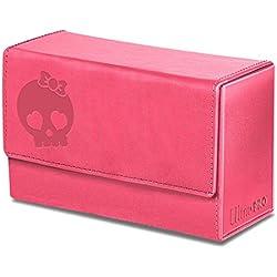 Ultra Pro Deck box calavera rosa premium 200 cartas