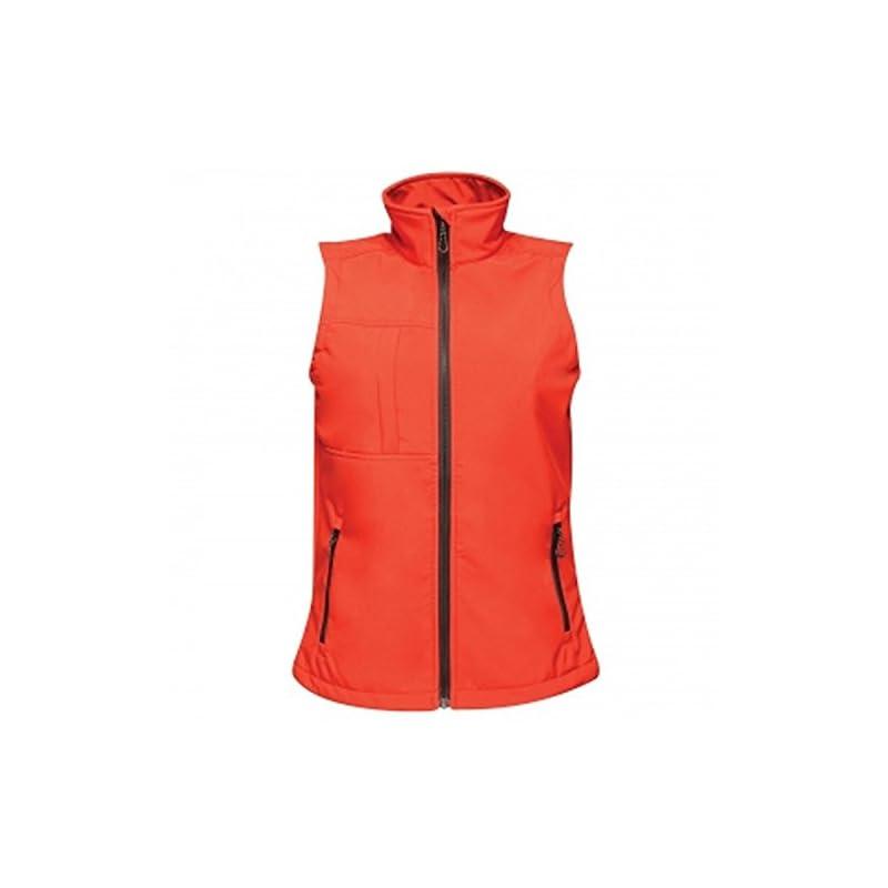 Regatta TRA849 80820L Professional Women's Octagon II 3 Layer Waterproof Softshell Body warmer, Black(Black), 20