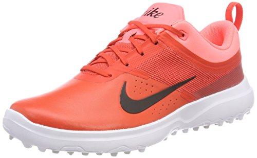 Nike Akamai, Chaussures de Golf Femme, (Max Orange/Black/Lava Glow), 36.5 EU