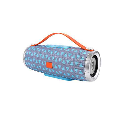 Drahtlose Bluetooth-Lautsprecher tragbare wasserkocher Griff tf Card eingebautes mikrofon fm -E 8x7.6x17.7cm(3x3x7) (Possibles Tasche)