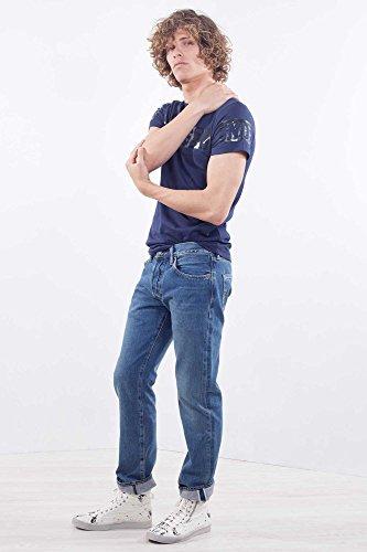 Levi`s Herren Jeans 501 005012575 fit warp stretch electric avenue 32/32