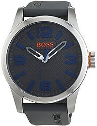 Hugo Boss Orange 1513349 - Reloj analógico de pulsera para hombre, correa de silicona