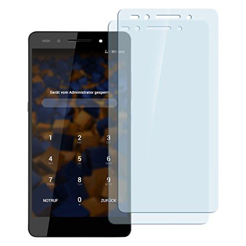 2x mumbi Panzerfolie Huawei Honor 7 / Honor 7 Premium Glasfolie Hartglas 9H