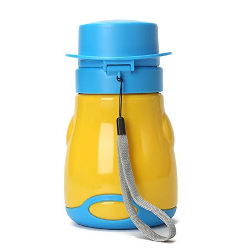 A perfetta tenuta del bambino Orinatoio Bambino portatile Orinatoio di corsa del bambino all'aperto igienici (giallo, 1 pz)