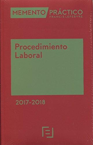 Memento Práctico Procedimiento Laboral 2017-2018