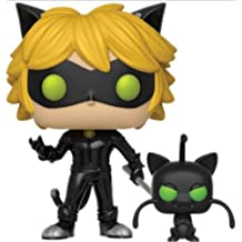 Funko – Miraculous Color Tales of Ladybug and Cat Noir Pop Vinyl Figure with plagg,
