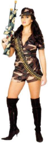 (sexy Armee Mädchen - Erwachsene Kostüm)