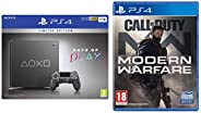 DAYS OF PLAY SPECIAL EDITION PS4 1TB SLIM & Call Of Duty Modern Warfare (