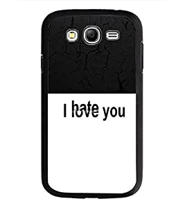 PrintDhaba Quote D-5456 Back Case Cover for SAMSUNG GALAXY GRAND NEO (Multi-Coloured)