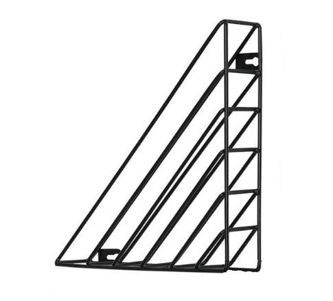 WSNDD Geometric Wall Decoration Iron Frame Hanging Rack Wall Display Storage Box Multifunction Mesh Wire Metal Wall Shelf - Wire Frame Rack
