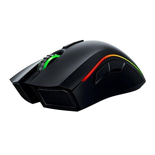 Razer Mamba Wireless Edition RGB Beleuchtete Ergonomische Gaming Maus (Präziser 16.000 dpi Sensor mit 9 programmierbaren Tasten) - 11