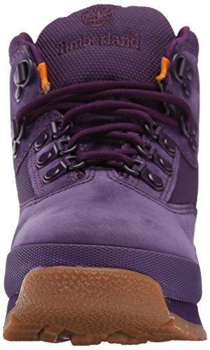 Timberland Junior Euro Hiker Cuir Botte purple