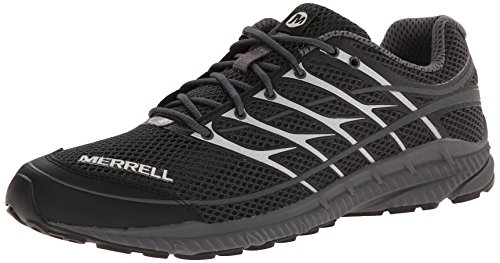 Merrell - MIX MASTER MOVE 2, Scarpe da trail running da uomo Nero (Nero (Black/Castle Rock))