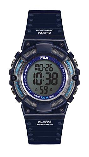 Fila-Bracciale unisex orologio digitale al quarzo 38-097-004FILACTIVE blu plastica