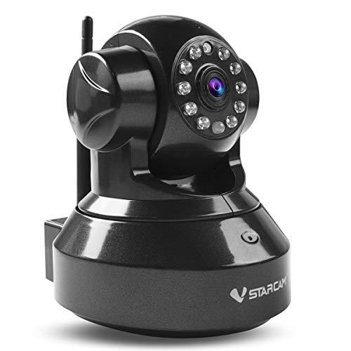 Vstarcam C7837WIP HD 720P Überwachungskamera P2P Wireless indoor IP Kamera, 3DB wifi Antenne, WiFi Wlan Netzwerk Überwachung, Pan/Tilt, Schwenkbare IR Monitor (P2p-drahtlose Ip-kamera)
