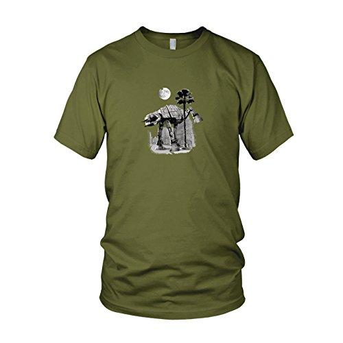 SW: at-at Peeing - Herren T-Shirt, Größe: XXL, Farbe: ()