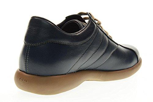 FRAU scarpe uomo sneakers basse 27N3 BLU Blu