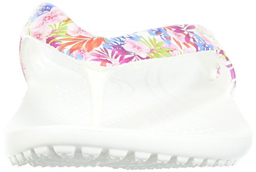 Bianco Kadee Medaglia Pinze tropicale Ii Grafica Multicolore Crocs Floreale Femme zqUTxdzB